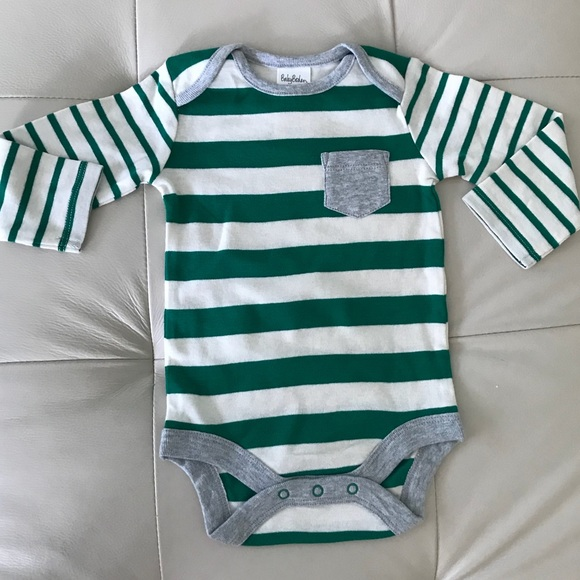Ex Baby Boden Girls Teddy Bear Stripe 5 Pack Bodysuits Vests Age 0 3 6 12 18